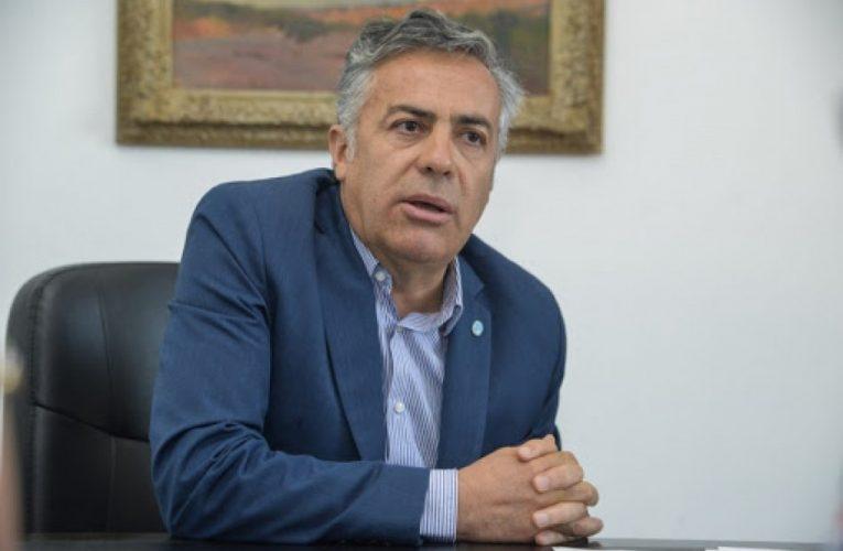 Cornejo aseguró que si en esta elección gana el kirchnerismo: «Se va a profundizar la pérdida de libertades individuales»