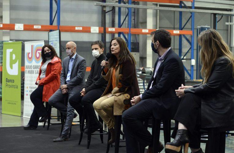 El gobierno bonaerense presentó el programa de créditos con perpectiva de género