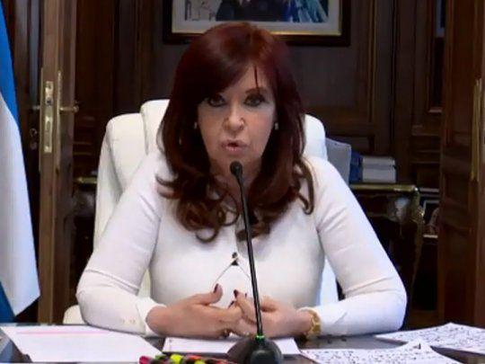 Memorándum con Irán: Cristina aseguró que «es un disparate judicial, institucional y político»