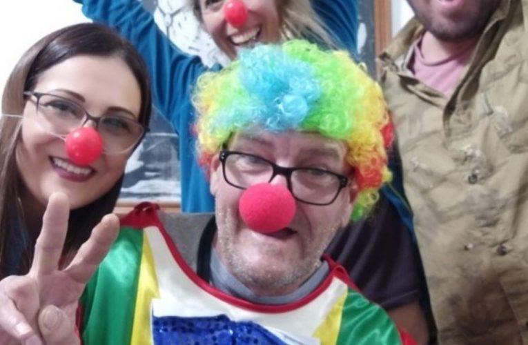 """""""Marulito"""", el payaso que es precandidato a legislador porteño"""