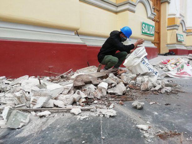 Un sismo de 6,1 grados provocó más de 40 heridos y daños a 200 casas en Perú