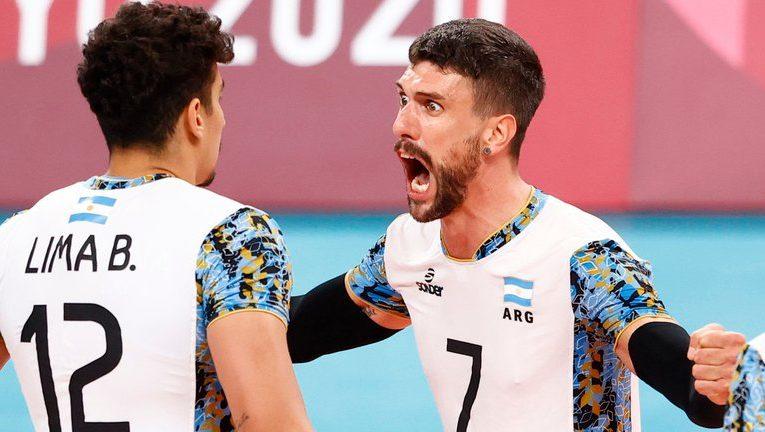 La Selección Argentina de vóley hizo historia y esta en semis de Tokio 2020